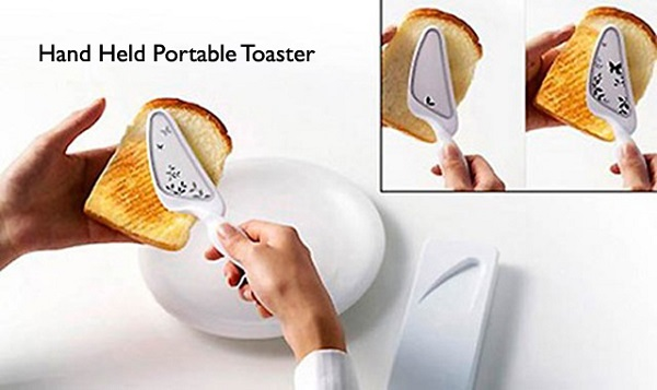 hand held portable toaster
