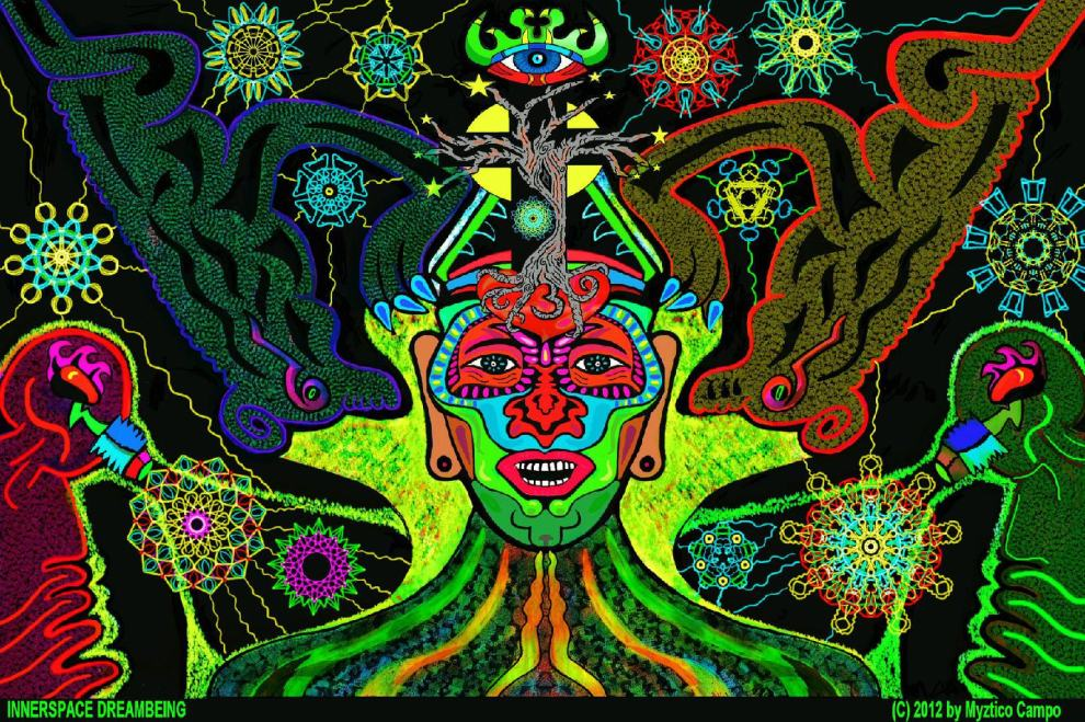 Ayahuasca Shamanic Vision Quest Art