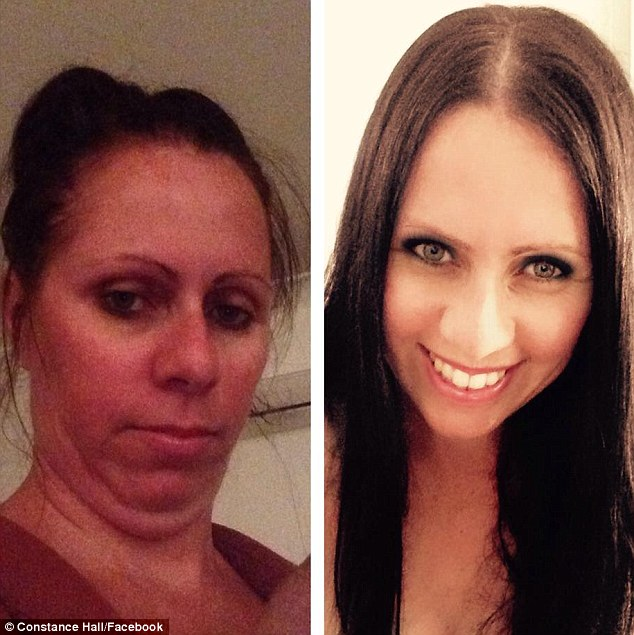 'Double, or maybe even triple chin on point': Some of the women were completely unrecognisable in their after photos