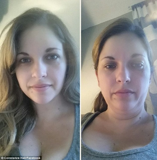 'Taken 10 Seconds apart, just for my queens!': One woman's face was transformed after just 10 seconds